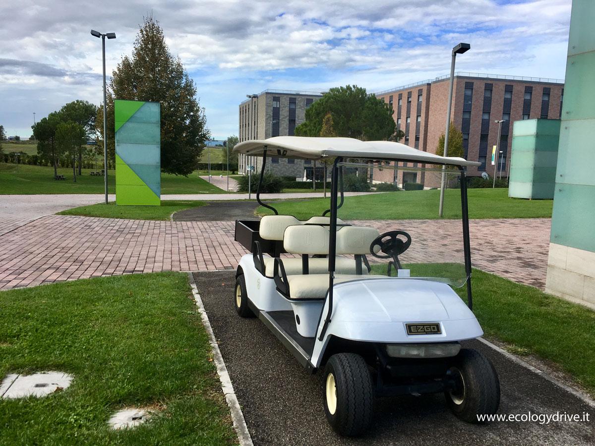 golf car 4 posti con cassone